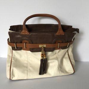Aldo Shoulder bag with tassel and gold accent